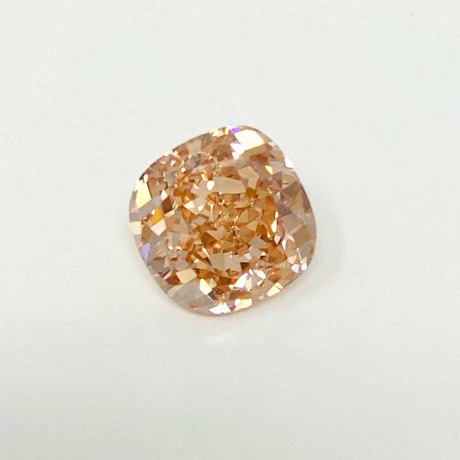 2.58ct Fancy Pink Cushion Cut Diamond